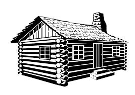 log house log house clipart