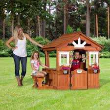big backyard bayberry ready to assemble wooden playhouse walmart com