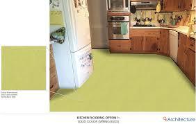 linen and terrazzo look vinyl sheet flooring in aqua and other