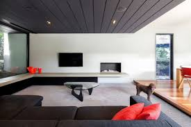living room lounge room with modern living room black fabric