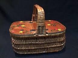 vintage picnic basket vintage picnic basket purse a rolling gathers no moss