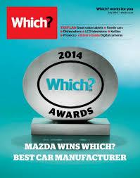 mazda manufacturer mazda named u0027best car manufacturer u0027 at 2014 which awards inside