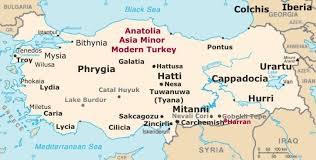 Byzantine Ottoman Anatolia Map Asia Minor Turkey Map History Facts Ottoman