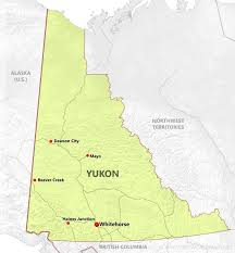 Canada Territories Map by Yukon Maps
