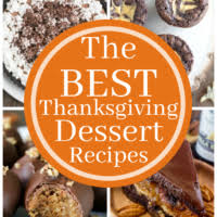 the best thanksgiving dessert recipes my kitchen craze