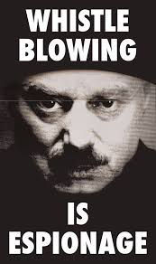Whistle Meme - whistle blowing is espionage george orwell 1984 big brother