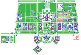 K State Campus Map by Moscow State University Campus Map Semester Study At Mgu