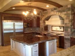 Kitchen Room   Tuscan Style Kitchen Tuscan Style Kitchen Wall - Tuscan style backsplash
