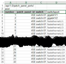 Patch Panel Label Template Excel Creating Patch Panels From Scratch In Device42 An Exle