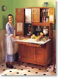 a hoosier cabinet from the early 1900 u0027s created a more efficient
