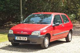 renault paris used renault clio rl paris red 1 1 hatchback ashtead surrey