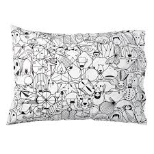 charley harper animal pillowcase the land of nod