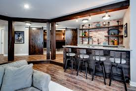 customize home elegant rustic home bar designs that will customize your home