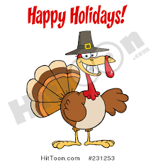 Happy Thanksgiving And Happy Holidays Happy Holidays Clipart 1 Royalty Free Stock Illustrations
