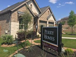 perry homes located in sweetwater