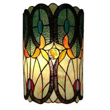 Stained Glass Wall Sconce Style Sconce Lighting For Less Overstock