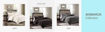 amazon com madison park arctic fur down alternative comforter