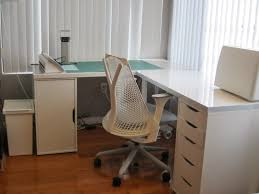 White L Shaped Desks Build White L Shaped Desk All Office Desk Design