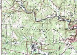 French Creek State Park Map Venango County Pennsylvania Map