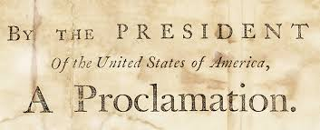 thanksgiving presidential proclamation american lens the