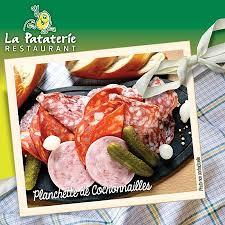 cuisine chasse sur rhone planchette de cochonnailles picture of restaurant la pataterie