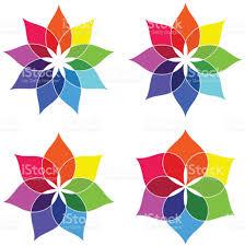 Color Spectrum Flower Color Spectrum Stock Vector Art 821392530 Istock