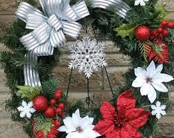 Cemetery Christmas Decorations Cemetery Wreath Etsy