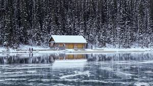 Winter Houses by Photos Little House Nature Winter Rivers Building