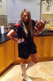 Halloween Football Costumes Diy Halloween Costume Style Curvy
