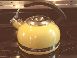 Yellow Kitchen Aid - tea kettle kitchenaid porcelain tea kettle kitchenaid tea kettle