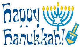 happy hanukkah signs retro happy hanukkah card 4 stock vector illustration of