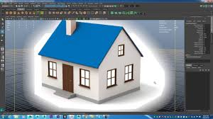 Project House by Maya Fundamentals House Project Start Class Series Part 1