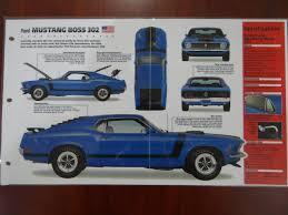 ford mustang 302 boss 1970 części do samochodów amerykańskich