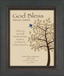 personalized communion gifts communion prayer canvas wall praying boy by artfulpoems