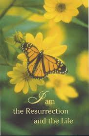 Funeral Bulletin Funeral Bulletin I Am The Resurrection And The Life St Jude