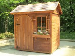 install small garden sheds with attractive designs and styles