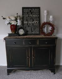 furniture antique dark buffet sideboard with simple amerock and