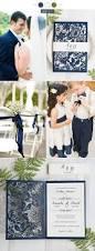 Navy Blue Wedding Invitations Wedding Invitations U2013 Stylish Wedd Blog