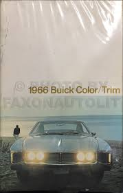 1966 buick body manual original gs skylark special riviera