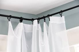Curtain Rail Curved Ikea Curved Curtain Rod 5107