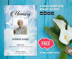 funeral booklet sles templates for obituary programs images exle resume ideas
