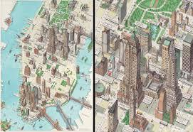 Map Manhattan Manhattan Map The Times Katherine Baxter Debut Art