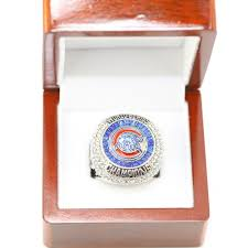 2016 chicago cubs zobrist ws heroics baseball championship rings