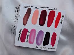 oriflame the one long wear nail polish review u0026 swatches in