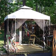 Replacement Pergola Canopy by Replacement Canopy For Garden Treasures 10 X 12 Gazebo With Lowes