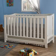 Pali Convertible Crib Pali Treviso Two Tone Forever Crib In White Grey Free Shipping