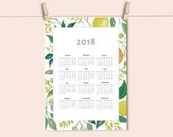 botanical calendars 2018 calendar 2018 wall calendar botanical 2018 calendar