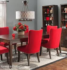 Download Red Upholstered Dining Room Chairs Gencongresscom - Red dining room chairs