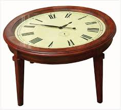 Clock Coffee Table Clock Coffee Tables Elegantly Derek Lloyd Dean