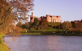 scottish castle walldevil